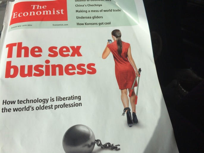 Angeschmuddelt, aber folgenreich: Economist untersucht, wie Apps das älteste Gewerbe revolutionieren - und alle anderen gleich mit.