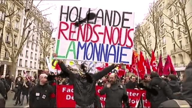 Frankreich verlässt den Euro - und das Land stürzt ins Chaos. Eine fiktive TV-Serie spielt durch, was wäre wenn. Fazit: der Euro steht in Südeuropa auf der Kippe.