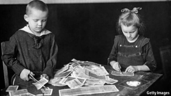 Hyperinflation im Deutschland der 20er: Ein Schicksal, das Griechenland und der Drachme droht
