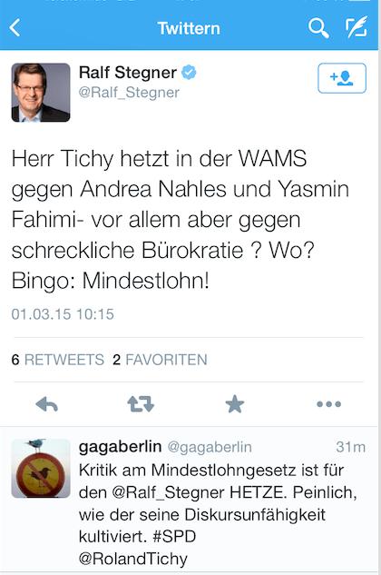 Twitter Ralf Stegner