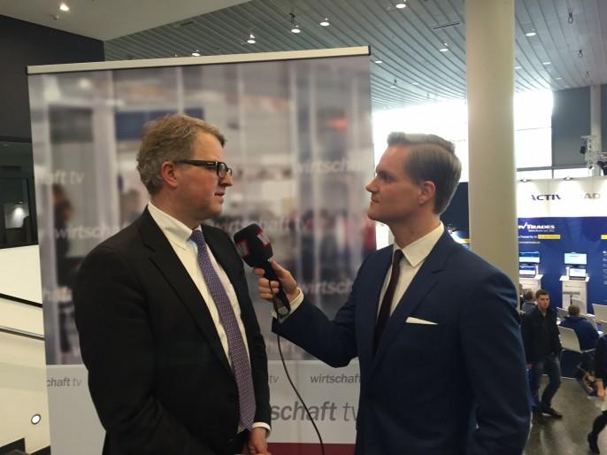 Frank Schäffler im Interview auf der Anlegermesse Frankfurt