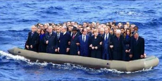 Alle sitzen in einem Boot, denn für das Flüchtlingsdrama gibt es keine einfache Lösung. Was sind die Konsequenzen für Zivilgesellschaft und Arbeitsmarkt? Die Fragen werden nie gestellt - und entscheiden aber über unsere Zukunft.