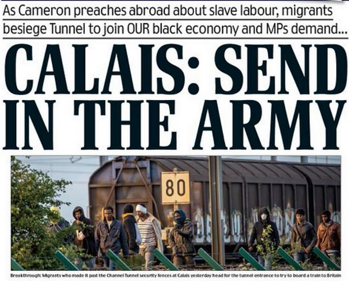 Frontseite Daily Mail