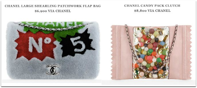 Taschen aus der Chanel Supermarket Theme Fall Coll. 2014 - via Purse Blog