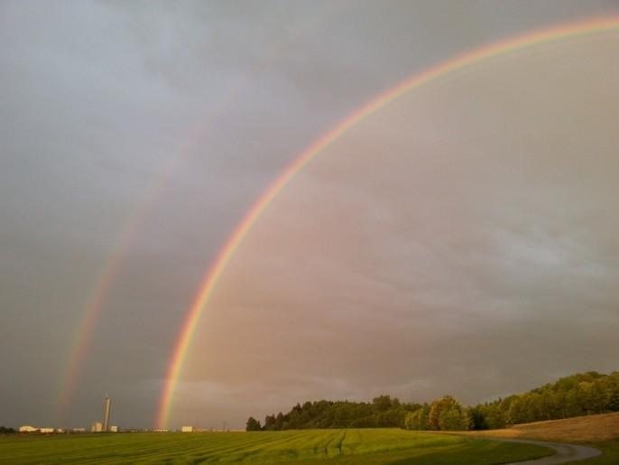 double-rainbow-143328_960_720