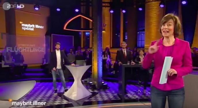 Screenshot: maybrit illner, ZDF