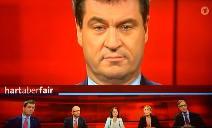 Screenshot: hart aber fair, ARD
