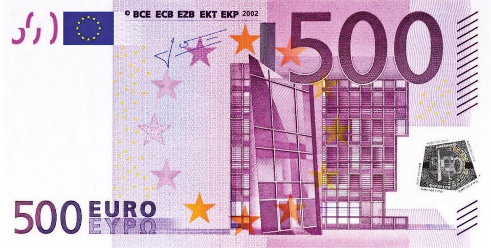 die abschaffung des 500 euro scheins richtet sich gegen. Black Bedroom Furniture Sets. Home Design Ideas