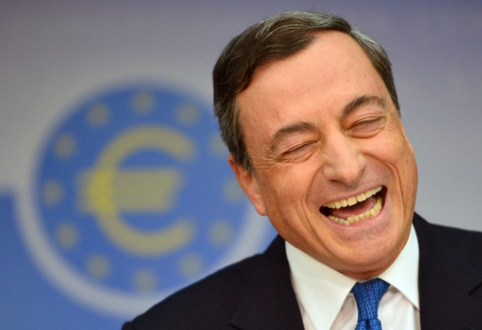 Mario Draghi Holds Final Press Conference In Old ECB Building