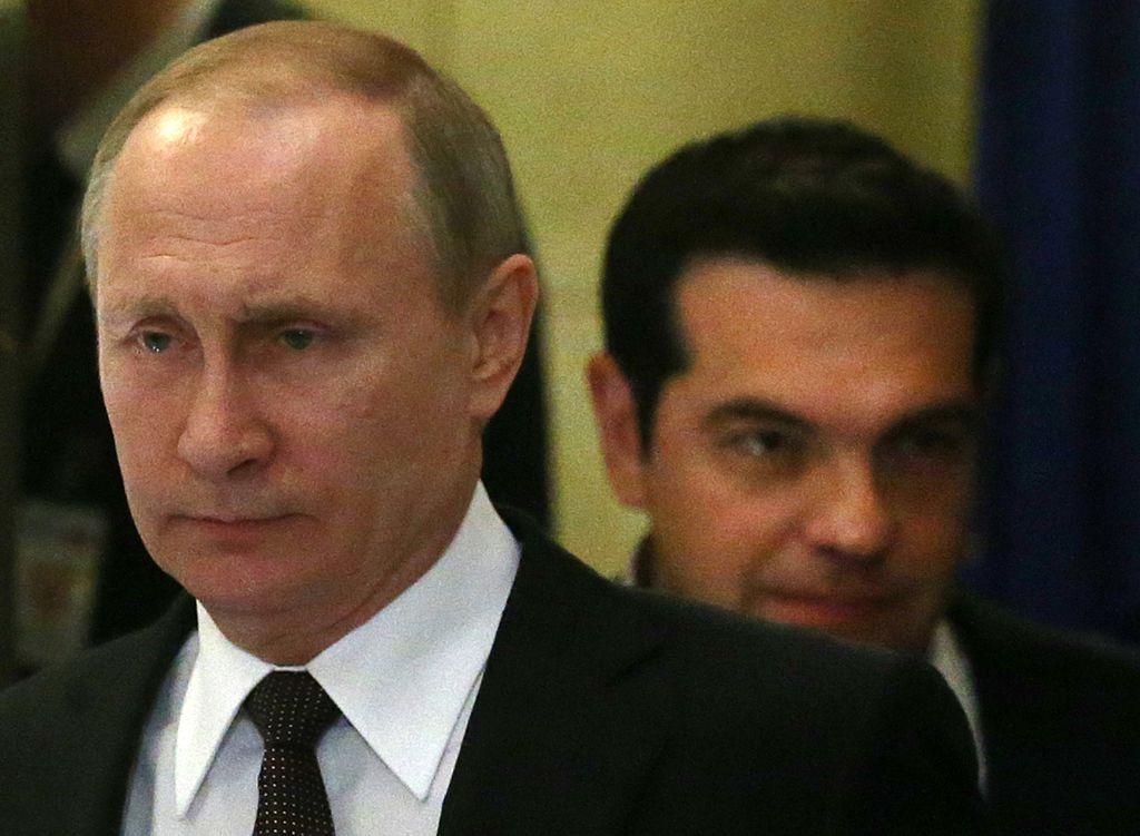 Putin bei Tsipras in Hellas - Tichys Einblick