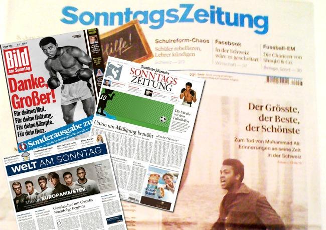 Ein Potpourrie Sonntagszeitungen - Tichys Einblick