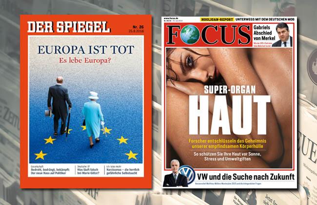 Brexit – SPIEGEL und FOCUS fallen bei der Reifeprüfung durch - Tichys Einblick