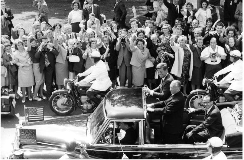 Staatsbesuch Präsident der USA, Kennedy