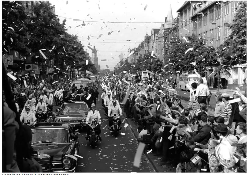 Berlin, Staatsbesuch Präsident der USA, Kennedy