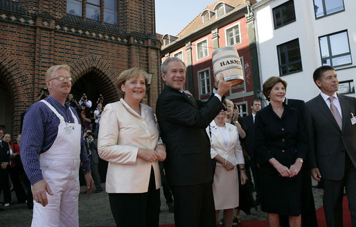 GWB: Arrival Ceremony Stralsund
