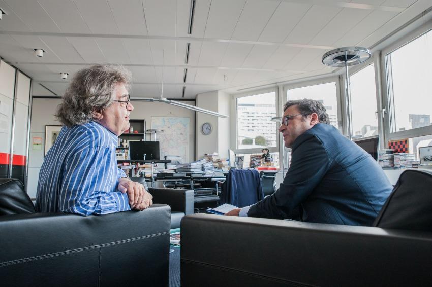 Helmut Markwort im Interview mit Frank-B. Werner,München, den 23.11.2016