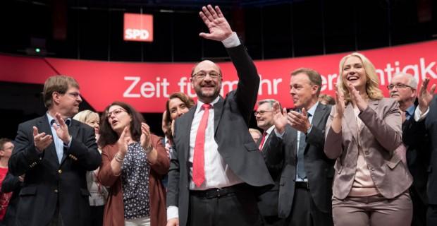SPD-Regierungsprogramm - Ohne Deutsche