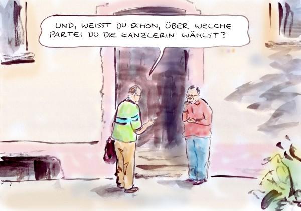 Merkel verliert bei Umfrage zehn Punkte an Zustimmung