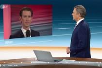 Sebastian Kurz vor schweren Wochen oder Monaten