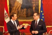 Österreich: Türkis-blaue Regierung mit neuem Stil