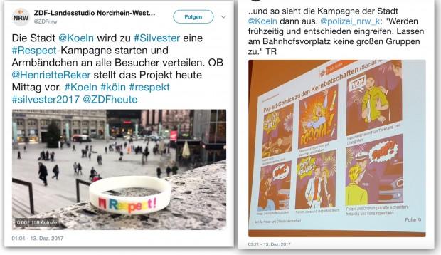 Köln: Mit Pop art und Armbändchen Silvester sichern?