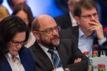 SPD-Parteitag: Gesichtskontrolle
