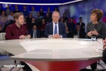 Maybrit Illner: Beifall für einen Nachwuchs-Funktionär