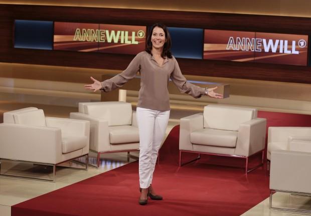 Leere Stühle bei Anne Will