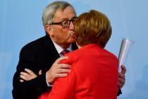 """Jean-Claude Juncker: Angela Merkel ist """"hoch qualifiziert"""" und """"ein liebenswertes Gesamtkunstwerk"""""""