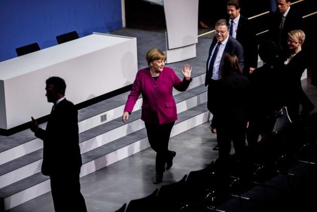 Krönungsmesse für Angela Merkel?