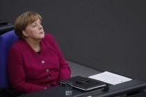 Merkel in EUropa allein zuhaus'