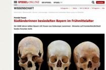 Schädelvermessungen sollen beweisen: Bayern ist historisch multikulti