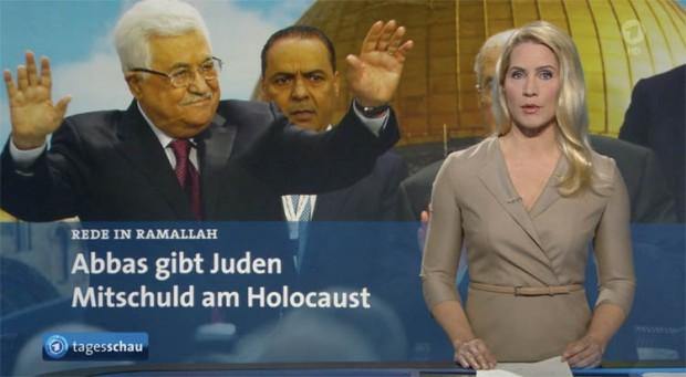 Abbas gibt Juden Schuld an Schoah