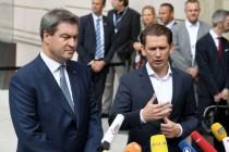 """Kurz und Söder: """"Domino-Effekt nationaler Alleingänge""""?"""