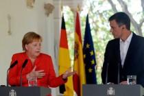 Angela Merkel in Spanien: Arbeitsverweigerung als Bankrotterklärung
