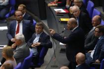 Im Bundestag entgleist der voll besetzte Schulz-Zug