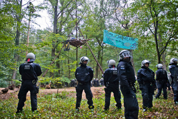 Hambacher Forst: Waldflächenbedarf bei Windmühlen 45-fach