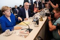 """CDU/CSU-Fraktion an Kanzlerin: """"Isch over"""""""