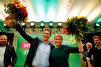 Die Grünen als Rote allein zuhaus'