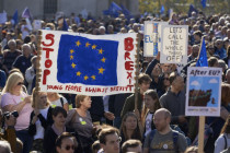 London: Pro-Globalisten-Aufmarsch