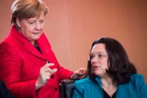 CDU und SPD: weiter runter