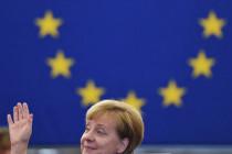 Europäische Armee? Merkel vor dem EU-Parlament
