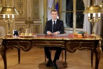 Macron, May und Merkel