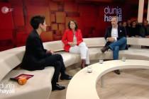 Bei Dunja Hayali: Das Attentat von Straßburg auf dem schmalen Sofa verhandelt