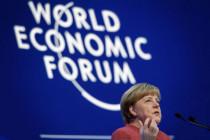 Die Knödelkanzerlin im Kaviar-Davos