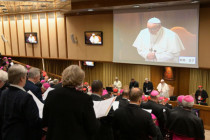 "Papst Franziskus zum Anti-Missbrauchsgipfel: Kritiker der Kirche sind ""Freunde des Teufels"""