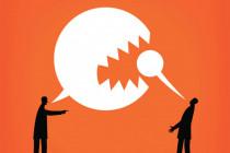 Wie politische Gegner sich gegenseitig Aufmerksamkeit verschaffen