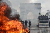 Gelbwesten, Akt 18: Gewaltorgie in Paris