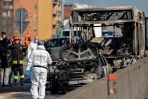 Mögliches Terrormotiv: Zuwanderer zündet in Italien Schulbus an