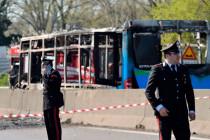 Italien: Größere Tragödie verhindert, als Mann Schulbus in Brand setzt